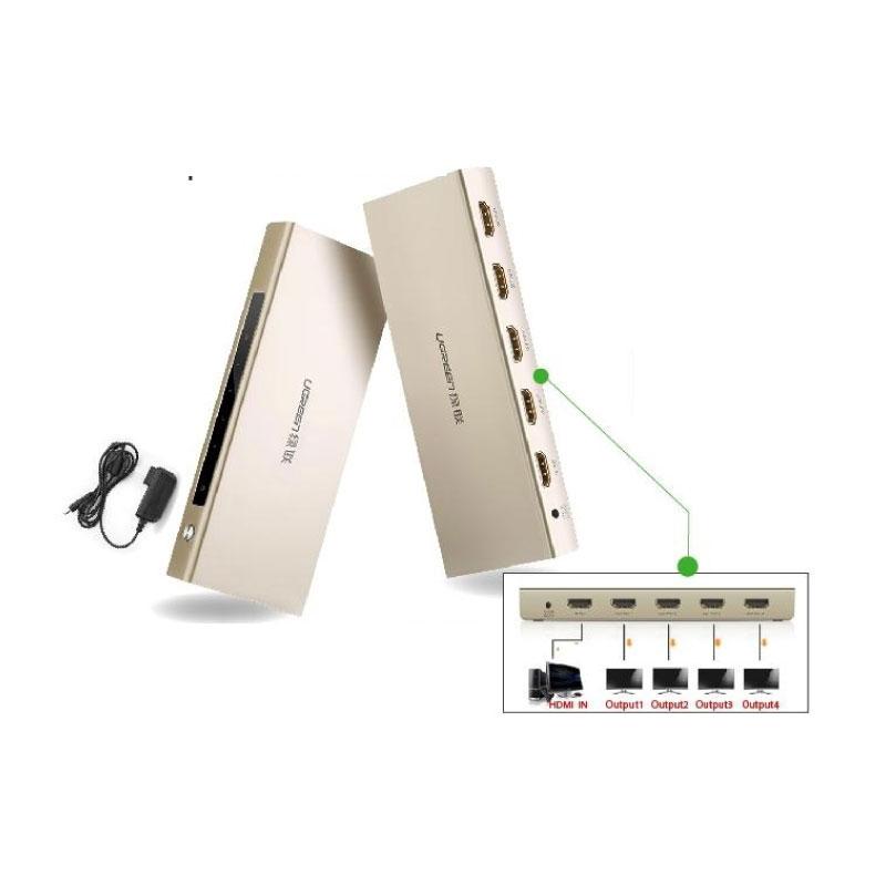 ตัวแปลง Ugreen HDMI 1*4 Amplifier Splitter