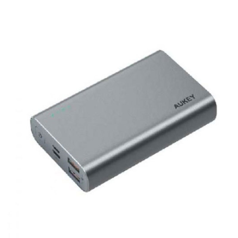 แบตสำรอง Aukey PB-XD12 10000mAh USB-C PowerBank with Quick Charge