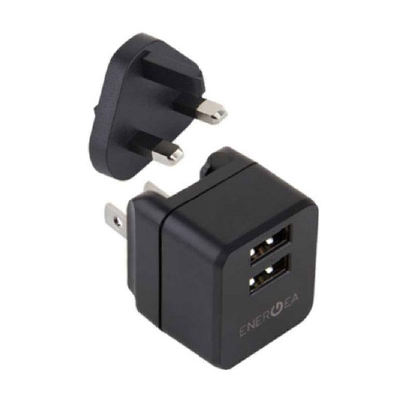 หัวแปลง Energea Wall Charger Travel Lite 2.4A 2 USB