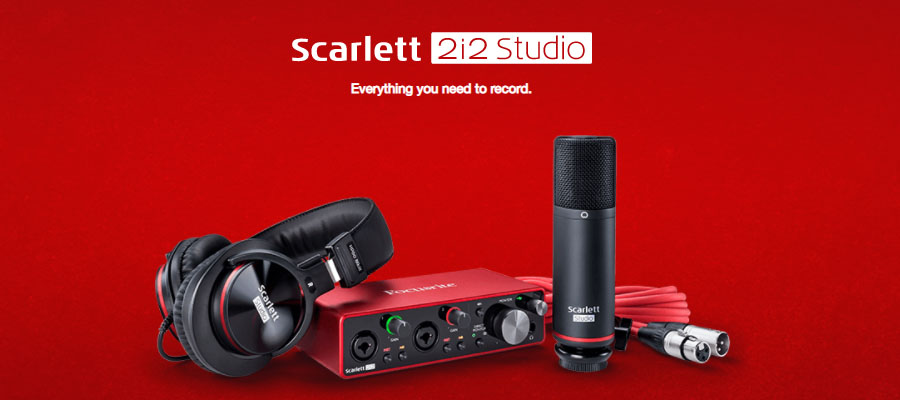 Focusrite Scarlett 2i2 Studio 3rd Gen Interface รีวิว