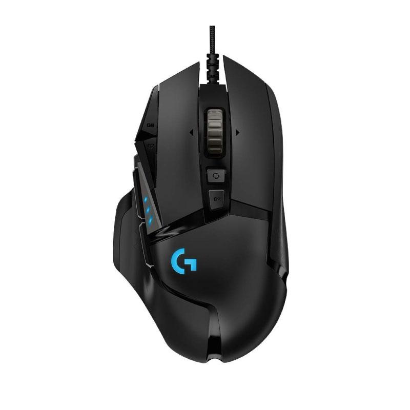เมาส์ Logitech G502 Hero RGB Gaming Mouse