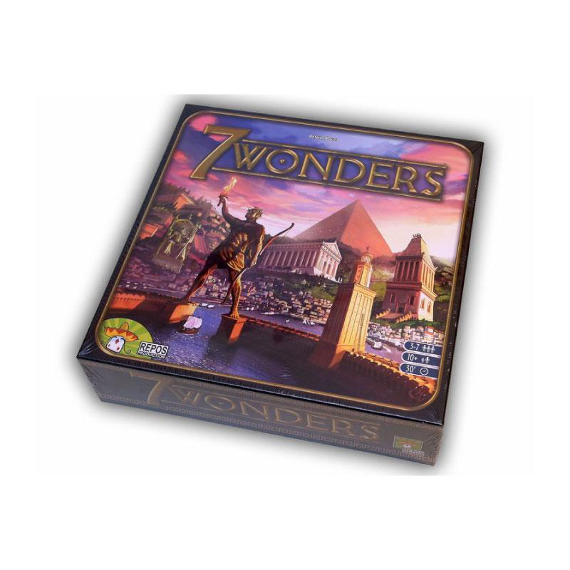 บอร์ดเกม เจ็ดสิ่งมหัศจรรย์ 7 Wonders Board game