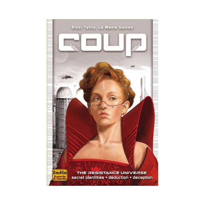 บอร์ดเกม Coup Board Game