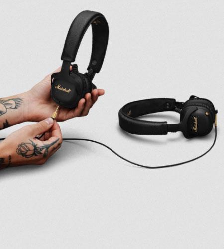 หูฟังไร้สาย Marshall Mid A.N.C. Wireless Headphone เบสหนัก