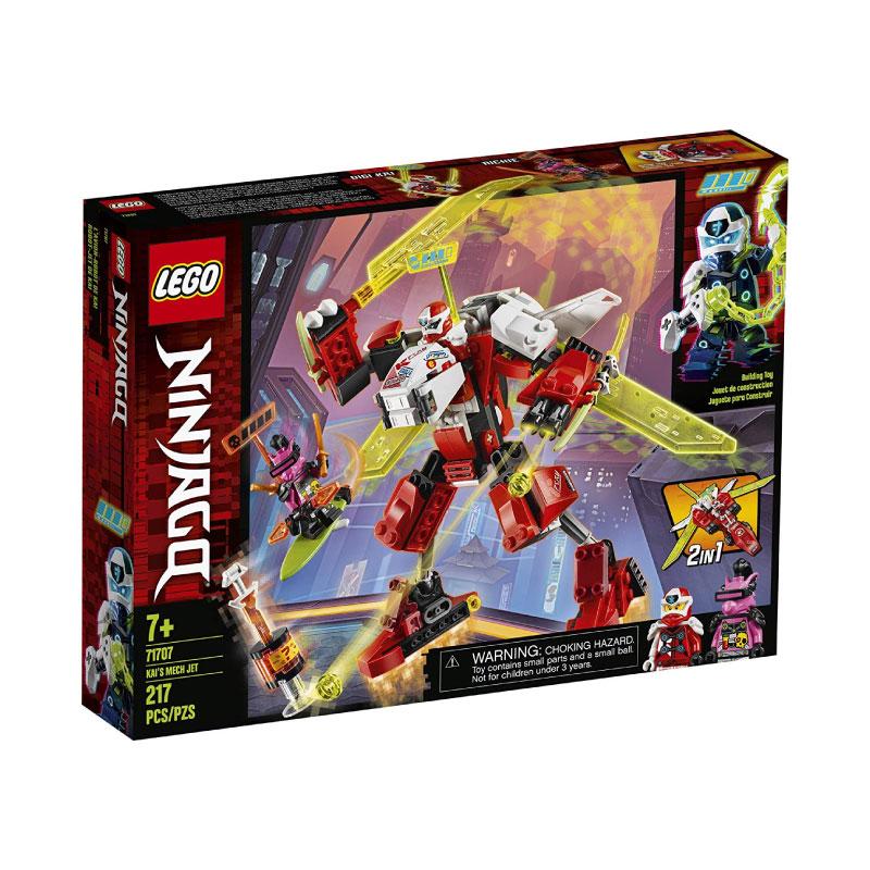 Lego Ninjago 71707 Kai's Mech Jet V29