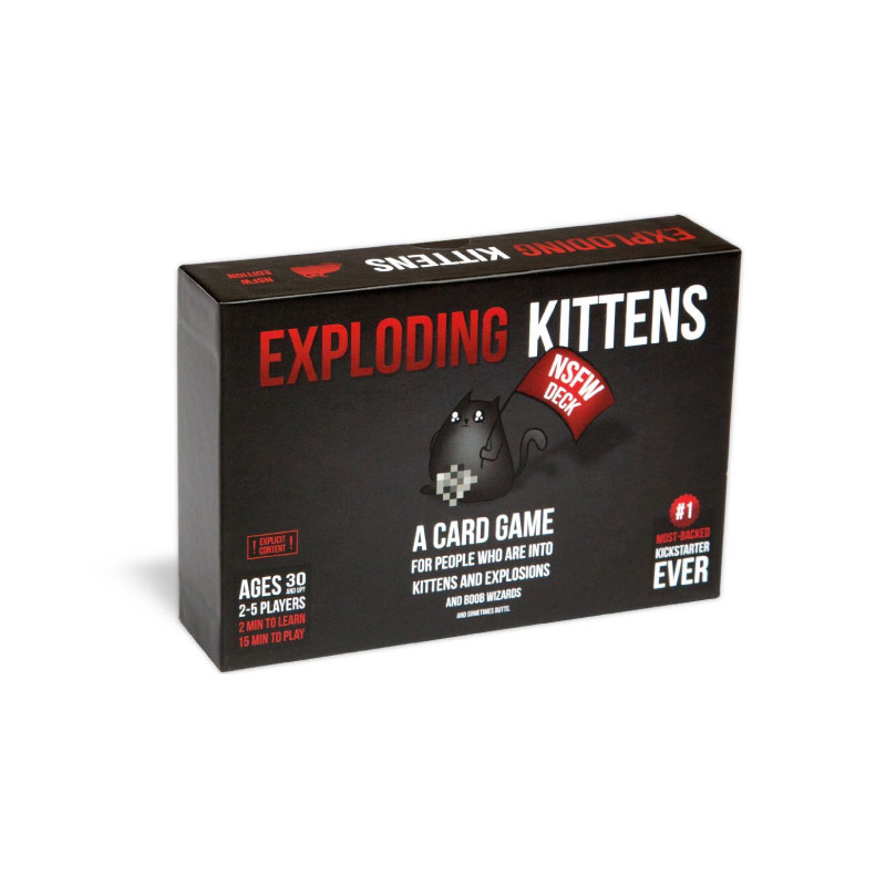 บอร์ดเกม Exploding Kittens Black Board Game