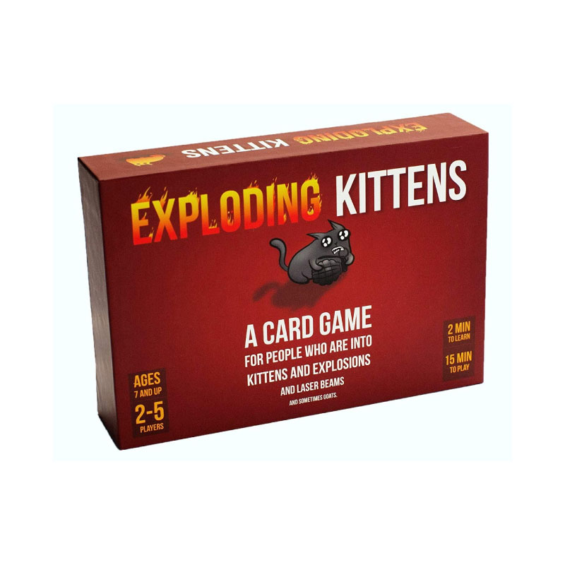บอร์ดเกม Exploding Kittens Red Board Game