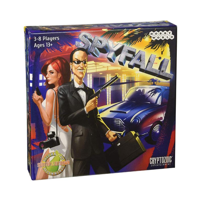 บอร์ดเกม Spyfall Board Game