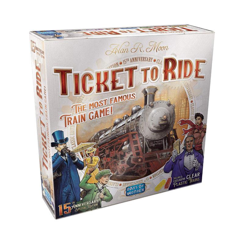 บอร์ดเกม Ticket To Ride 15th Anniversary Edition Board Game