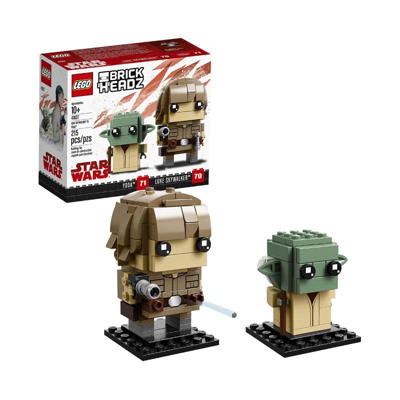 Lego BrickHeadz 41627 Luke Skywalker and Yoda