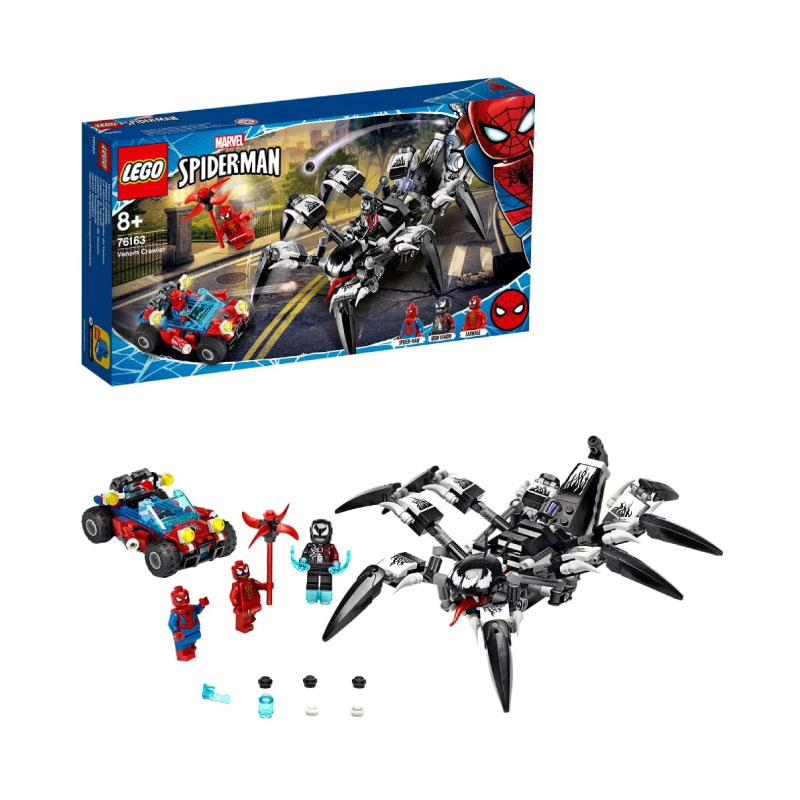 Lego Marvel Super Heroes 76163 Spider-man Venom Crawler Set