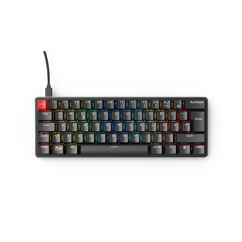 คีย์บอร์ด Glorious GMMK Prebuilt Compact Mechanical Keyboard