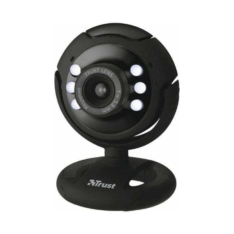 กล้อง Trust SPOTLIGHT PRO Webcam With LED Lights