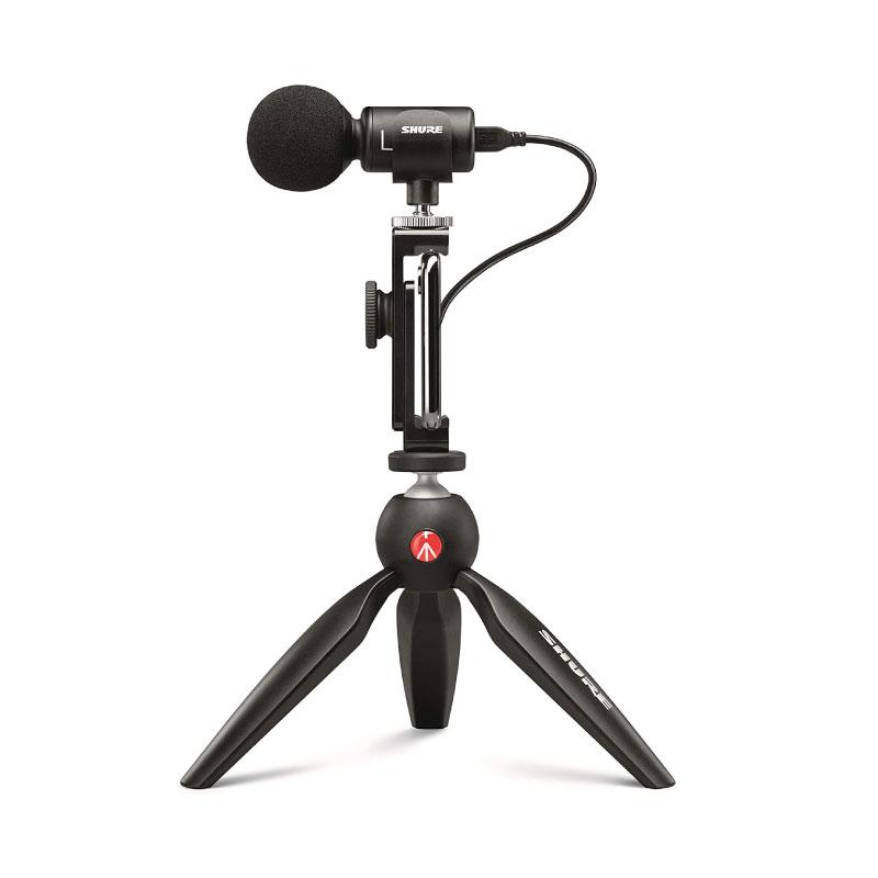ไมโครโฟน Shure MV88+ Video Kit with Digital Stereo Condenser Microphone