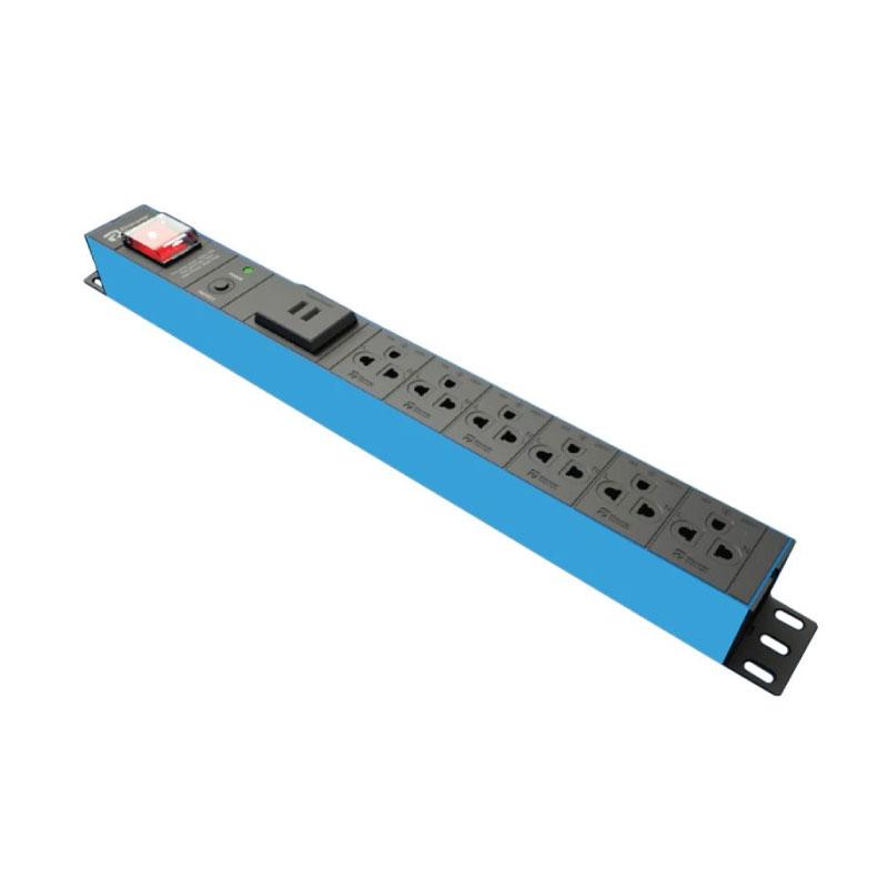 ปลั๊กไฟ Power Connex Plug 6 Way With USB Port
