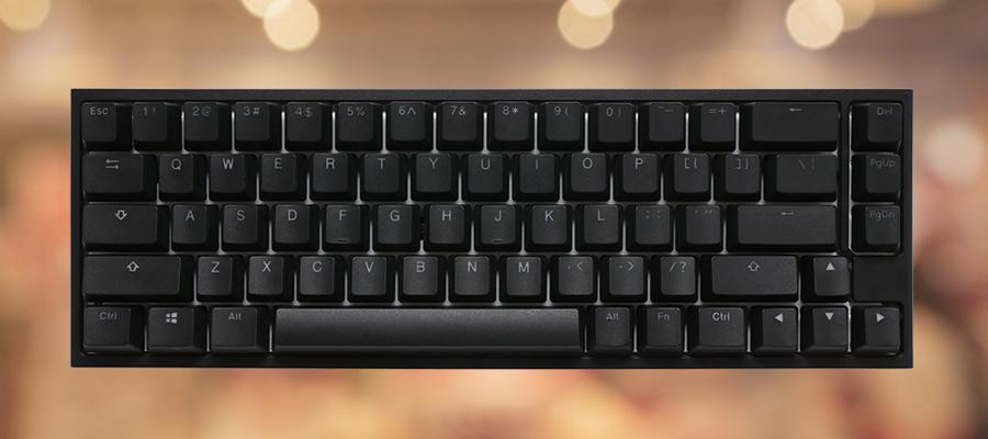 รีวิว คีย์บอร์ด Ducky One 2 SF RGB Mechanical Keyboard