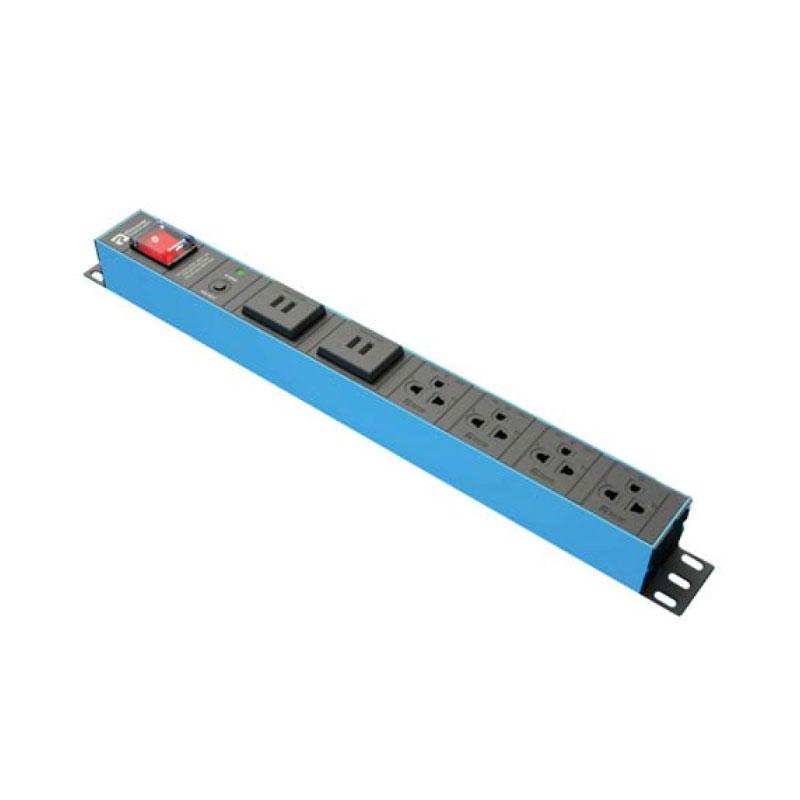 ปลั๊กไฟ Power Connex Plug 4 Way With USB Port and 1 Switch