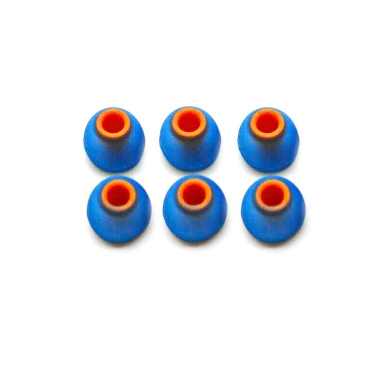 จุกหูฟัง X-Tips Mix Rubber 6 pairs