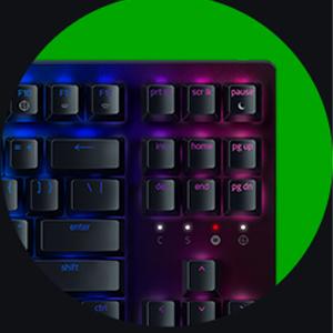 คีย์บอร์ด Razer Blackwidow V3 TKL Keyboards ซื้่อ-ขาย