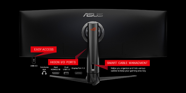 """จอคอม Asus ROG 43"""" VA Curved @ 120Hz XG43VQ Monitor Frame rate"""