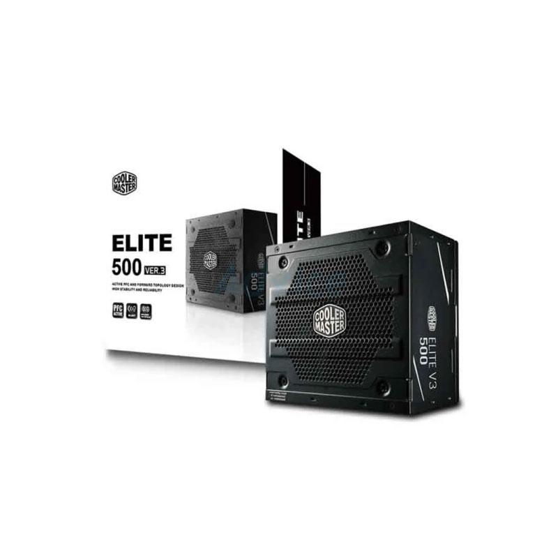 Power Supply Cooler Master 500W Elite V3  Full Range
