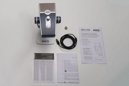 ไมโครโฟน AKG LYRA USB Microphone ในกล่อง