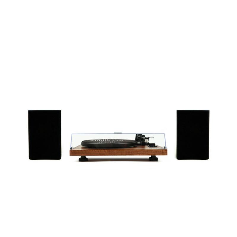 เครื่องเล่นแผ่นเสียง Gadhouse HENRY Hi-fi Turntable with Bookshelf Speaker