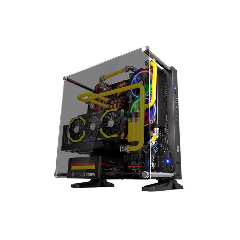 เคส Thermaltake CORE P3 TG Black Computer Case