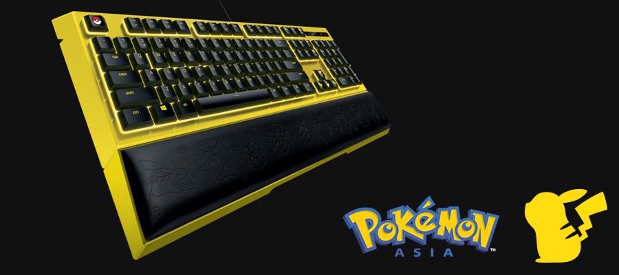 คีย์บอร์ด Razer Ornata Expert Pokemon Edition Gaming Keyboard รีวิว