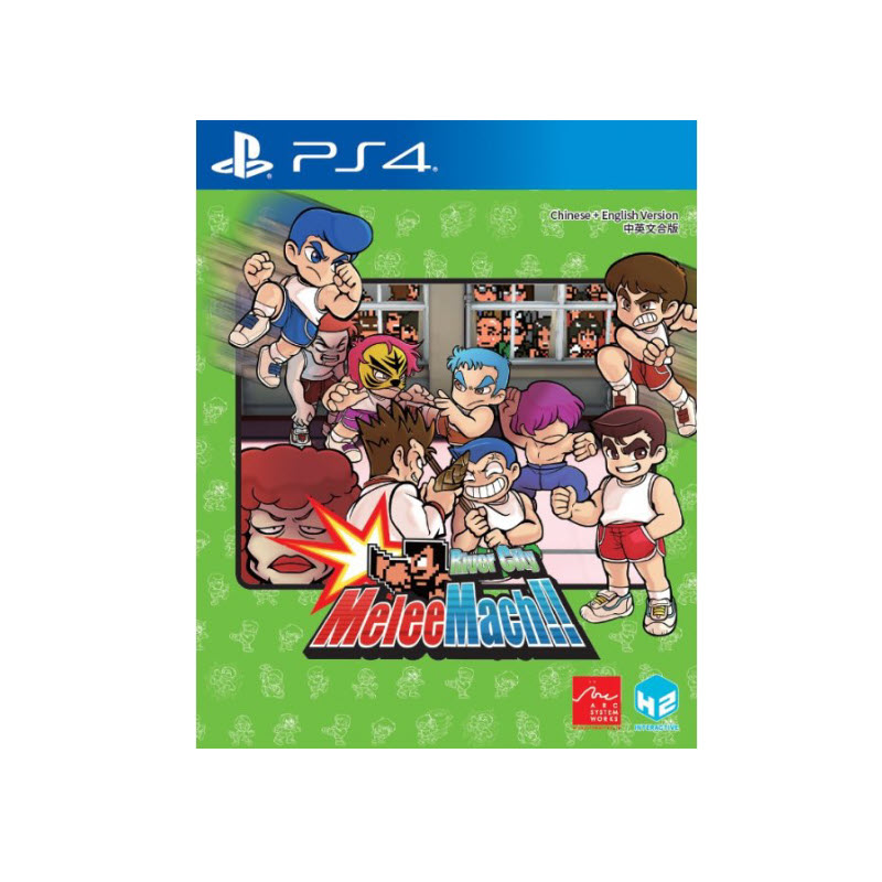 PS4 RIVER CITY MELEE MACH!! (MULTI-LANGUAGE) (ASIA) Game Console