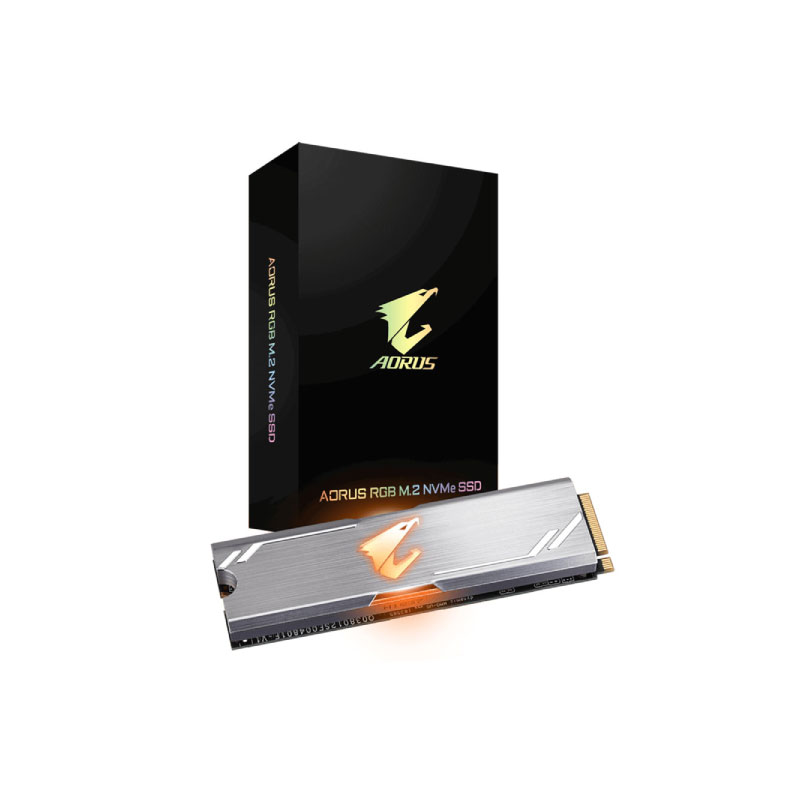 Gigabyte Aorus SSD RGB 512 GB Solid State Drives