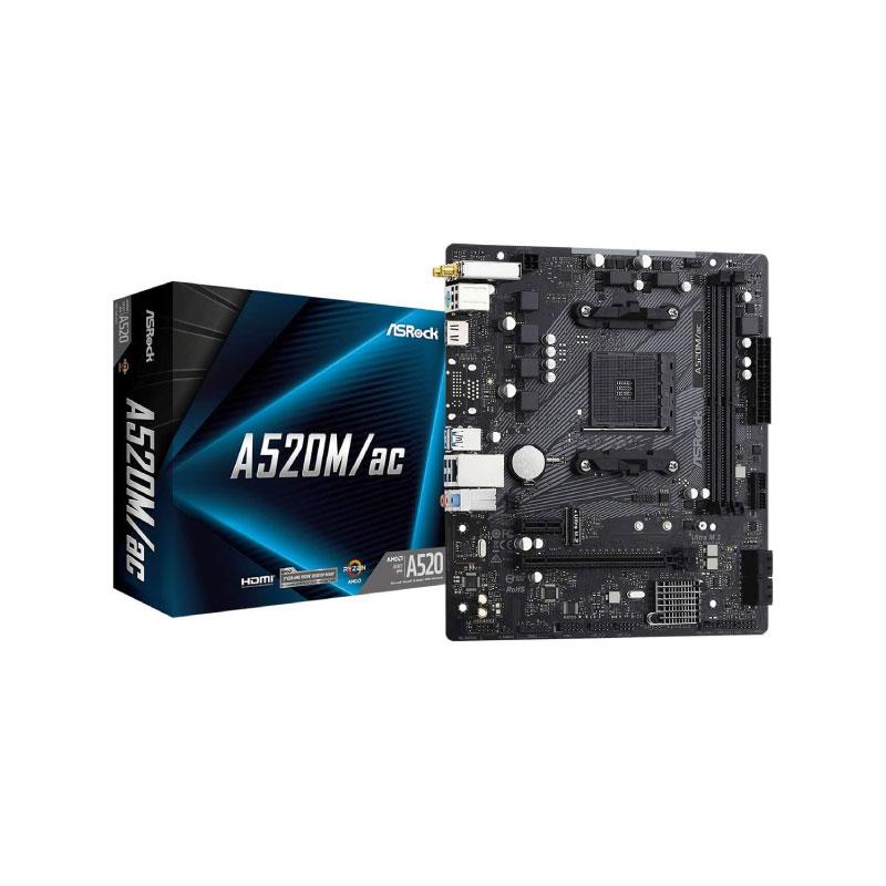 Asrock A520M/AC Mainboard