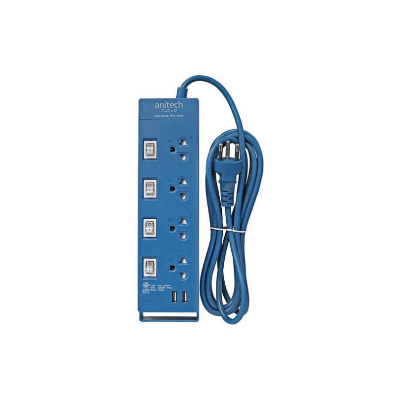 ปลั๊กไฟ Anitech H5234