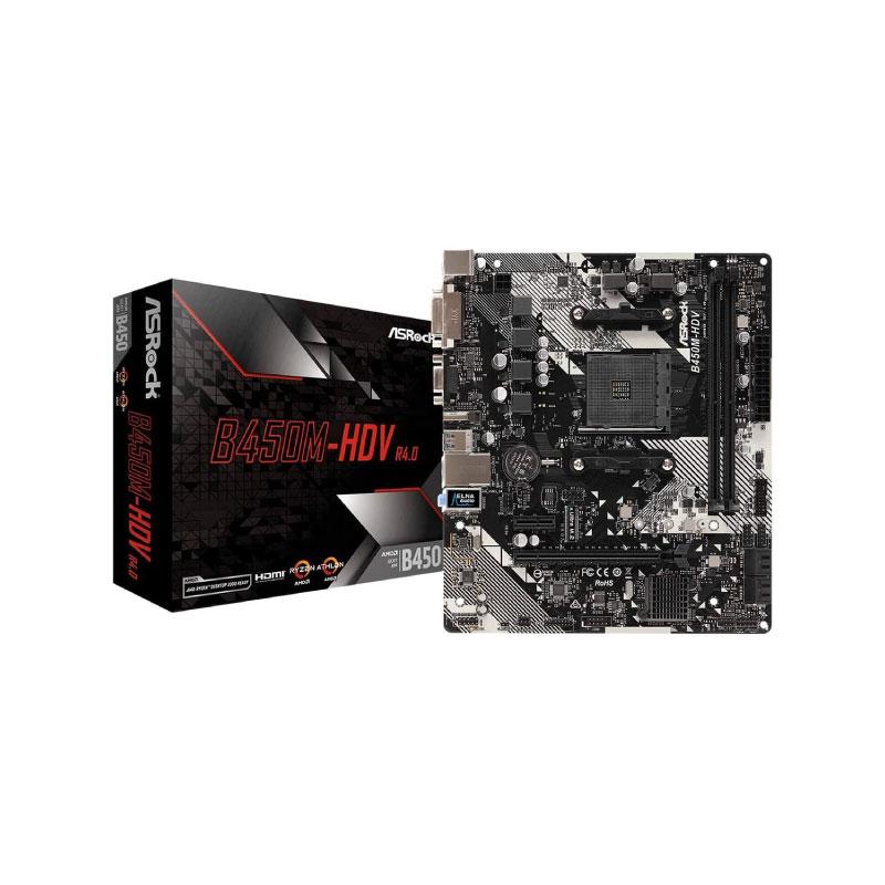 Asrock B450M-HDV R4.0 Mainboard