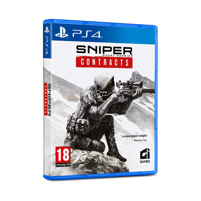 PS4 SNIPER: GHOST WARRIOR - CONTRACTS (ASIA) Game Console