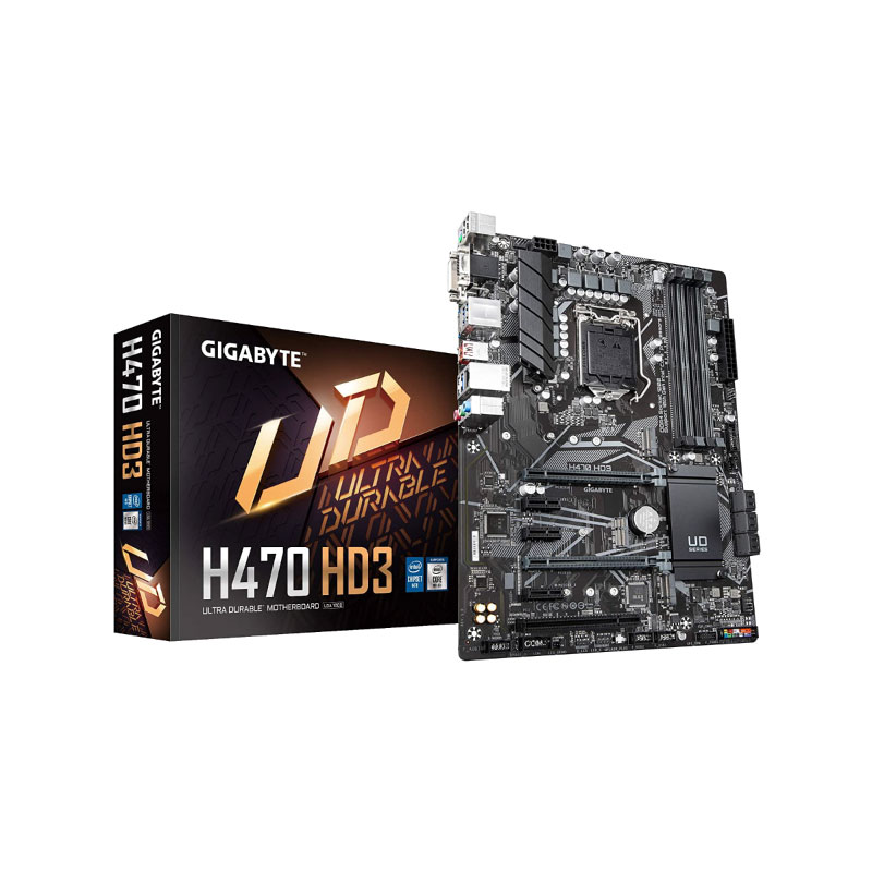 Gigabyte H470 HD3 Mainboard