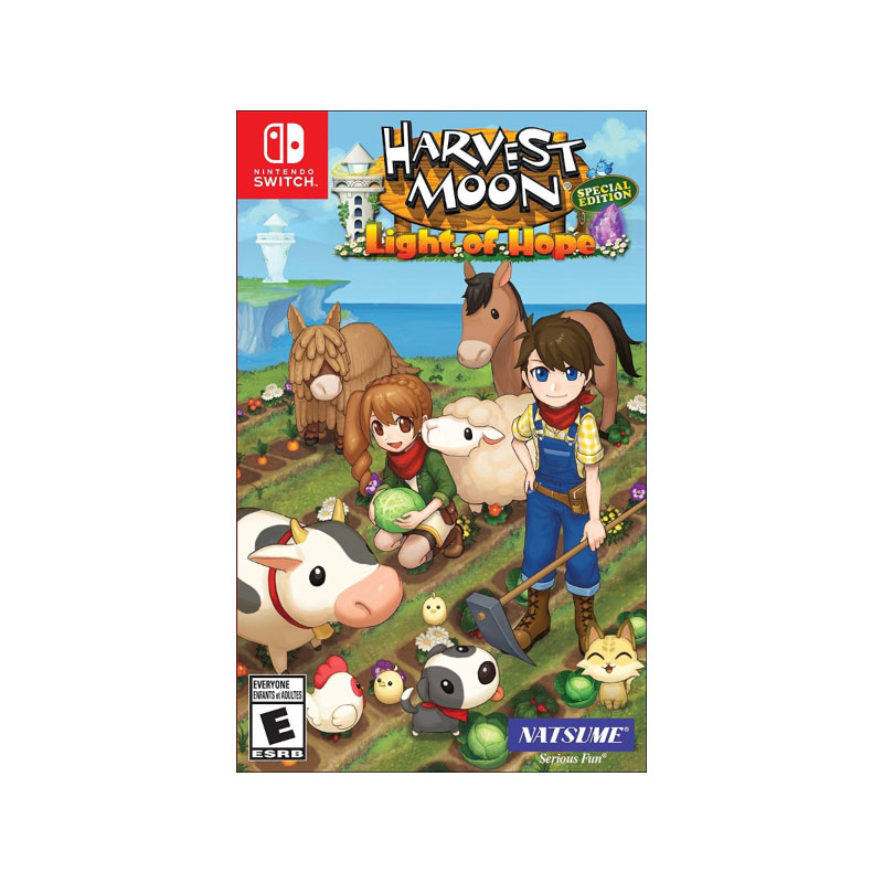 Nintendo HARVEST MOON: LIGHT OF HOPE [SPECIAL EDITION] (US) Game Console