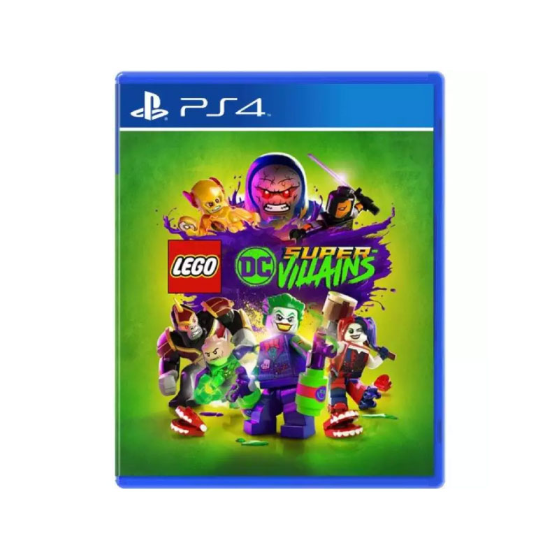 PS4 LEGO DC SUPER-VILLAINS (CHINESE & ENGLISH SUBS) (ASIA) Game Console