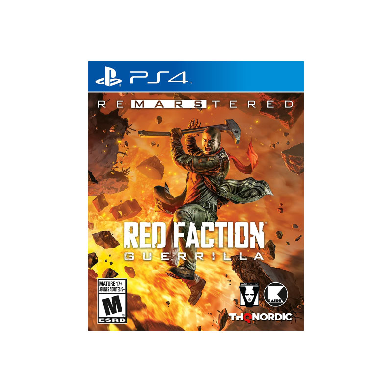 PS4 RED FACTION: GUERRILLA RE-MARS-TERED (EURO) Game Console