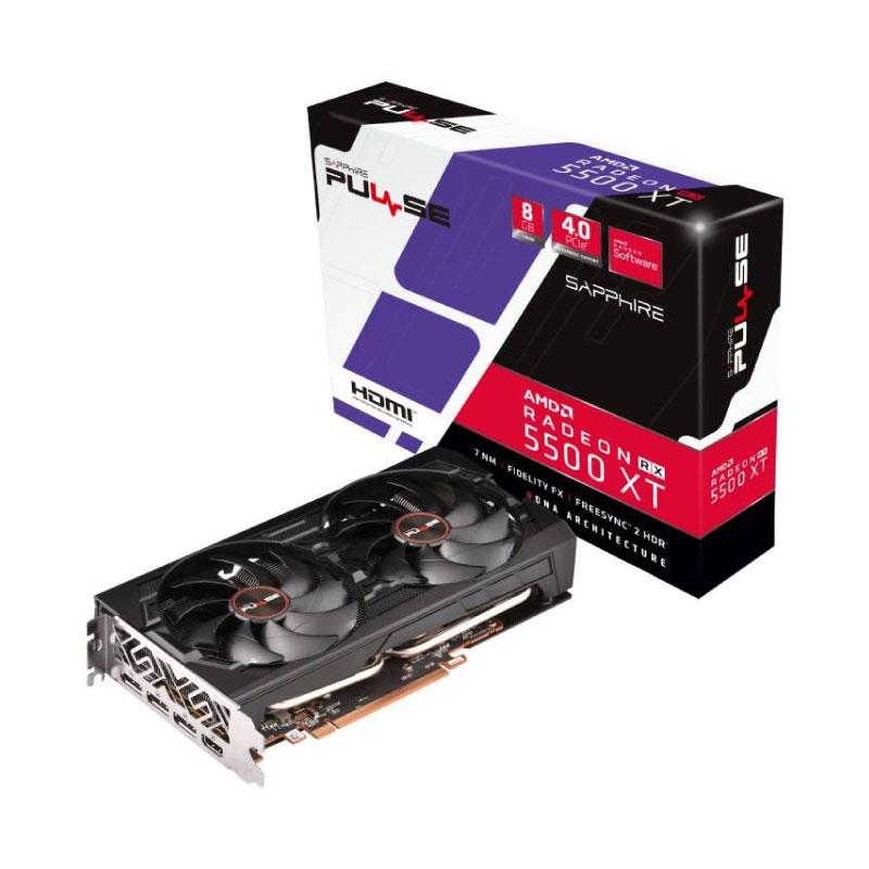 การ์ดจอ Sapphire Pulse Radeon RX 5500 XT 8GB GDDR6 VGA