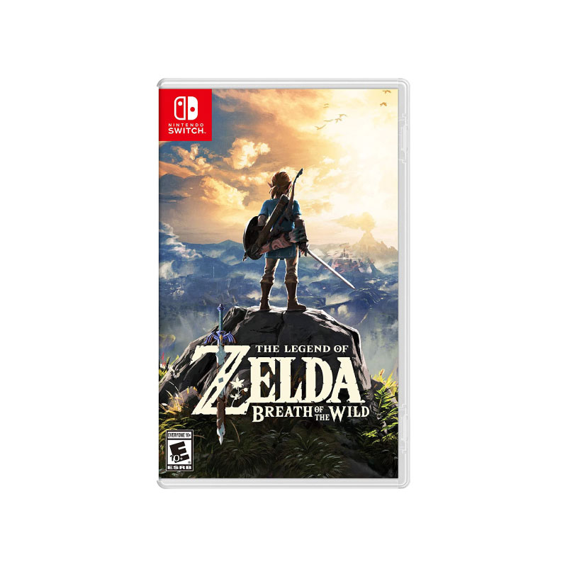 Nintendo THE LEGEND OF ZELDA: BREATH OF THE WILD (US) Game Console