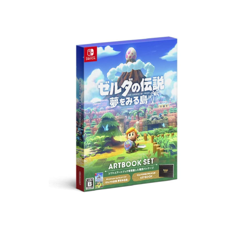 Nintendo THE LEGEND OF ZELDA: LINK'S AWAKENING [ARTBOOK SET] (JAPAN) Game Console