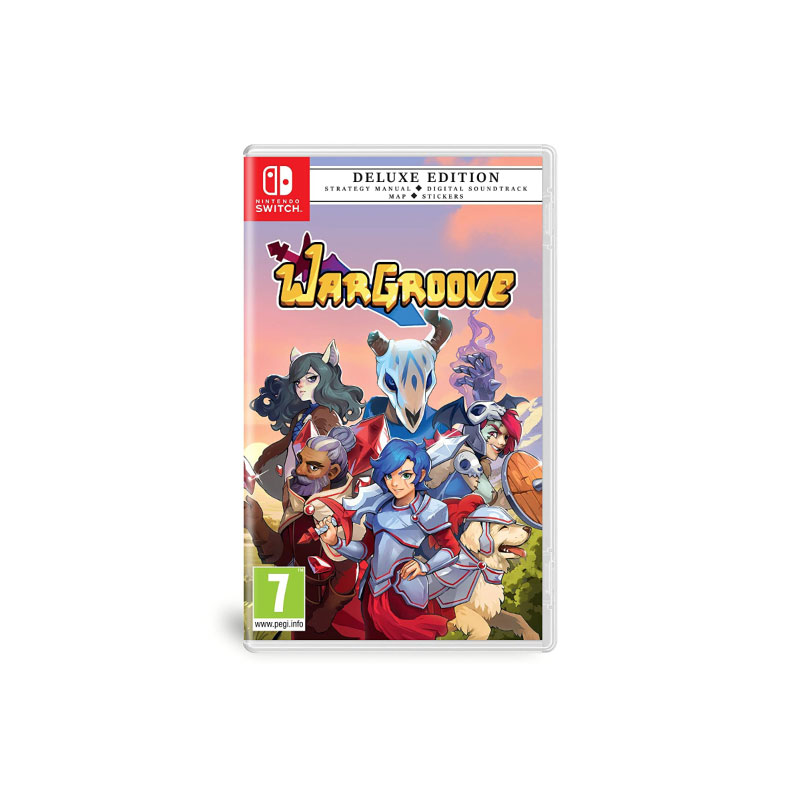 Nintendo WARGROOVE [DELUXE EDITION] (EURO) Game Console