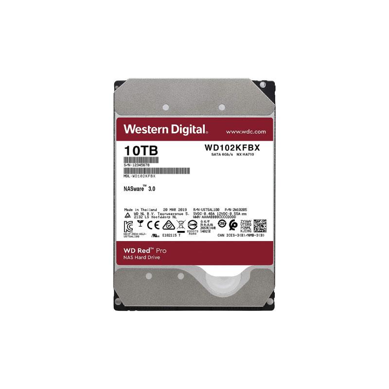 ฮาร์ดดิสก์ WD 10 TB NAS WD102KFBX Red Harddisk