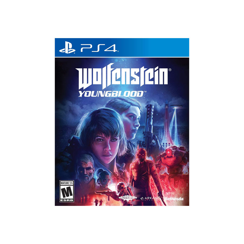 PS4 WOLFENSTEIN: YOUNGBLOOD (MULTI-LANGUAGE) (ASIA) Game Console