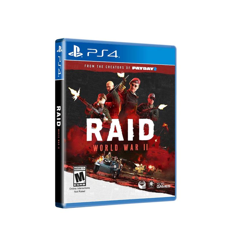 PS4 RAID: WORLD WAR II (EURO) Game Console