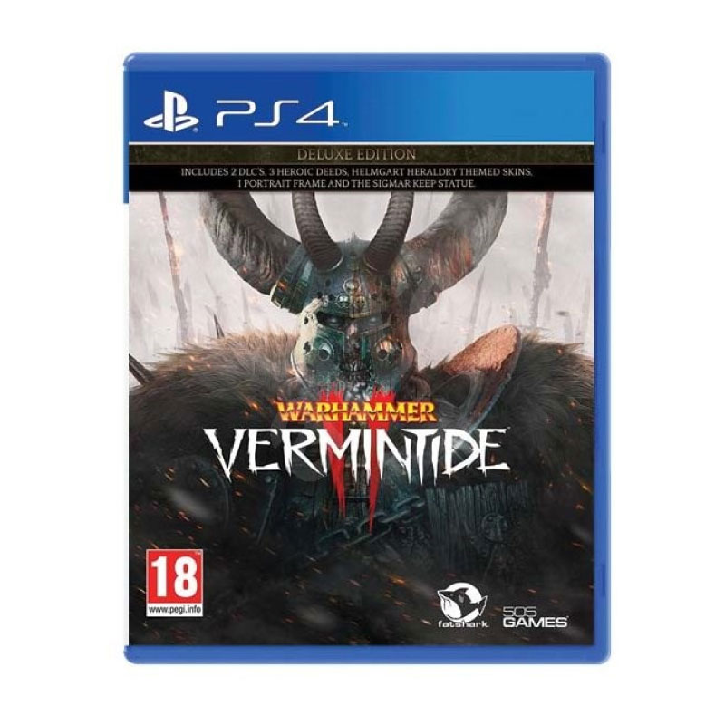 PS4 WARHAMMER VERMINTIDE 2 [DELUXE EDITION] (EURO) Game Console
