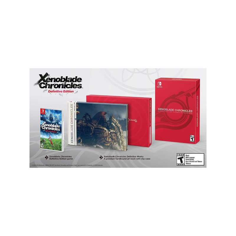 Nintendo XENOBLADE CHRONICLES: DEFINITIVE EDITION (DEFINITIVE WORKS SET) (US) Game Console