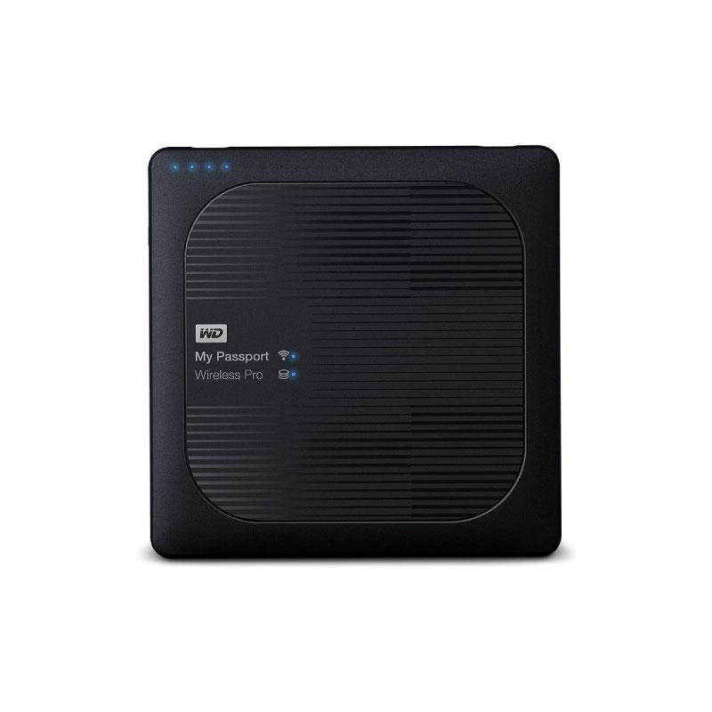 HDD WD My Passport Wireless Pro 4TB (WDBSMT0040BBK)