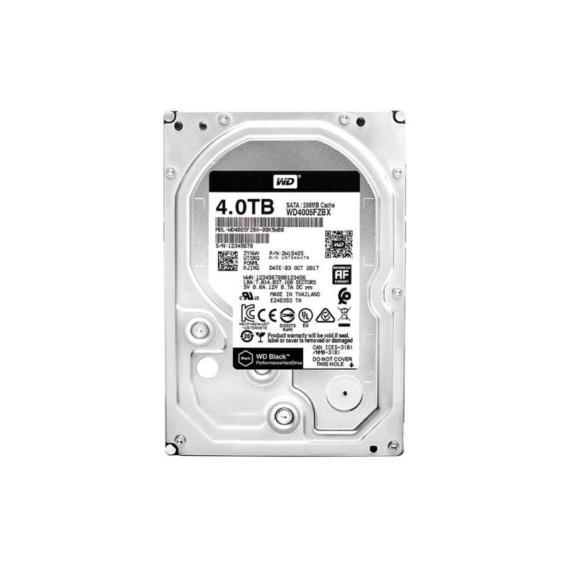 """HDD WD 4TB 3.5"""" SATA 7200Rpm (WD4005FZBX)"""